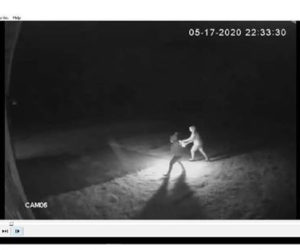 The Maine State Fire Marshal's Office is asking the public to help identify two people in a surveillance image as it investigates an incident of arson at Finest Kind Medicinals, on Route 1 in Waldoboro.