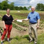 Insurance Company Donates to Local Food Bank