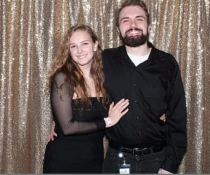 Chelsey Riendeau and Gregory Plourde