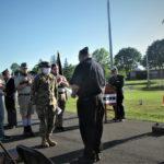 American Legion Hosts Flag Retirement Ceremony
