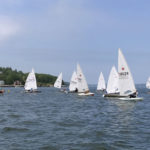 Laser States Sail Race in Round Pond