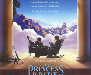 The Princess Bride movie poster from 1987.