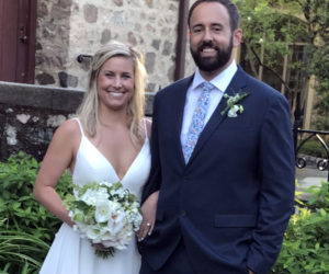 Maggie Anderson and Nathan Lincoln were married on April 24.