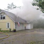 Lightning Strike Causes House Fire in Bristol
