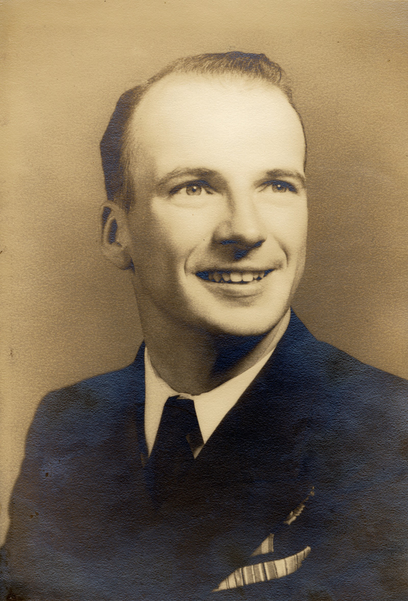 George N. Weston, shortly before deployment to the Pacific Theater during World War II. Weston, of Nobleboro, recently celebrated his 100th birthday. (Photo courtesy Mary Sheldon)