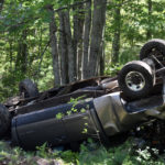 Rollover Sends Driver to Hospital in Somerville