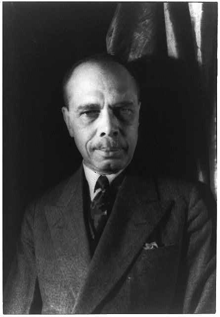 "James Weldon Johnson, between 1900 and 1920. Johnson wrote the lyrics to ""Lift Every Voice and Sing"" before his 1938 death in a Wiscasset accident. (Photo courtesy Library of Congress)"