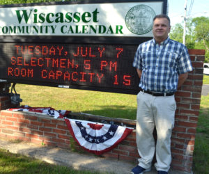 Dennis Simmons will be Wiscasset's next town manager. (Charlotte Boynton photo)