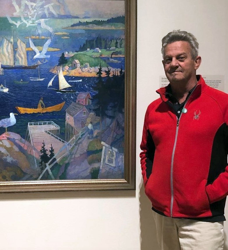 """Anthony Anderson will be the juror for River Arts """"Land and Sea"""" art show."""