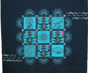 This year's queen-size alewife festival quilt.