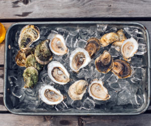 """""""Shuck-your-own"""" oysters are available at Glidden Point Oyster Farms."""