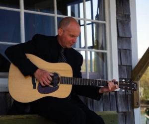 Seth Warner plays acoustic guitar.