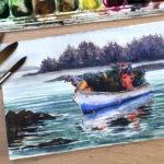 Plein Air Watercolor Class