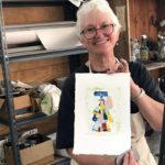 Midcoast Printmakers Continue Distanced Printmaking Classes