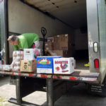 Local Trucking Company Delivers Food to Pantry