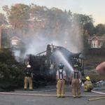Barn Burns Down in Christmas Cove