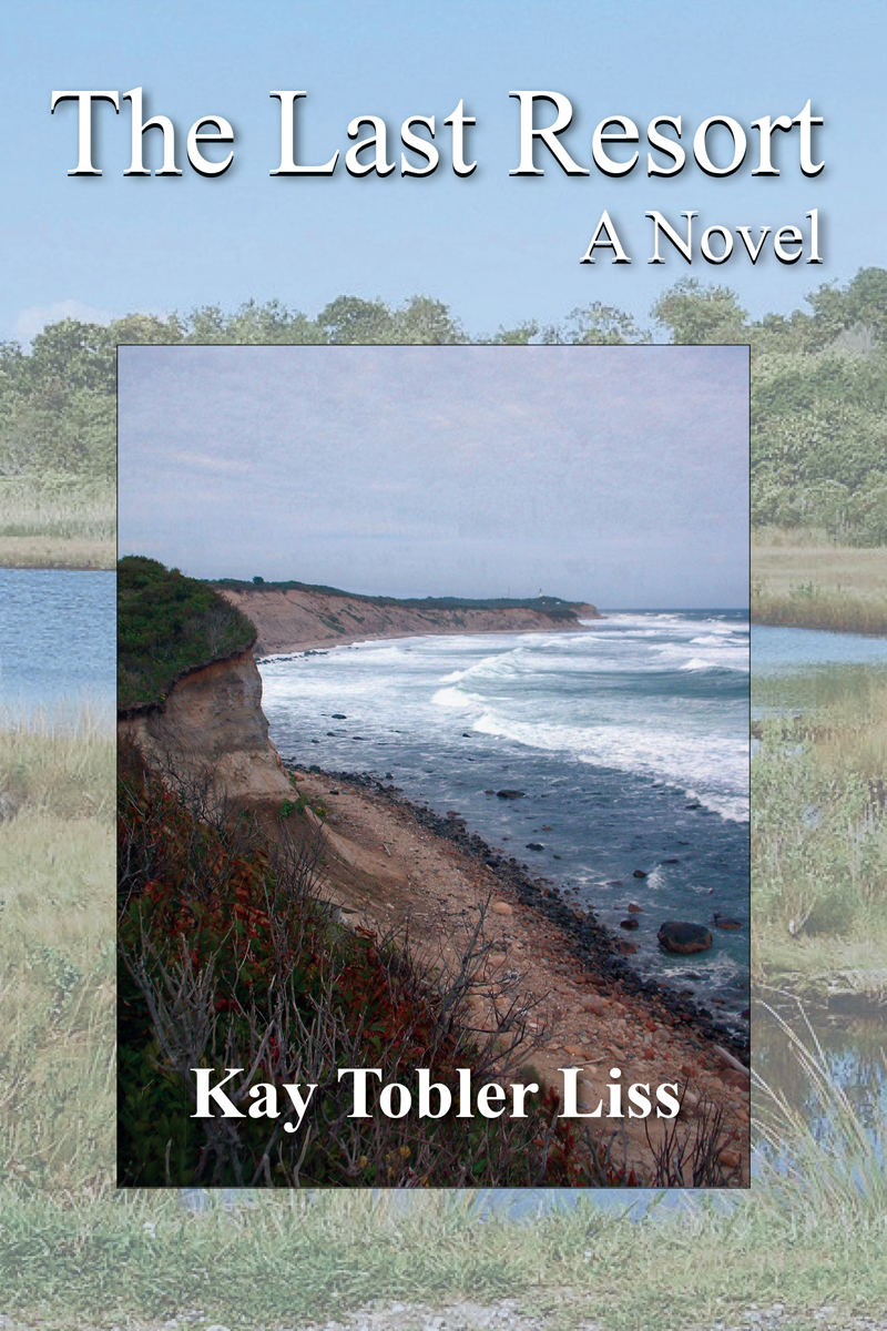 """The cover of """"The Last Resort,"""" the first novel by Jefferson author Kay Tobler Liss."""