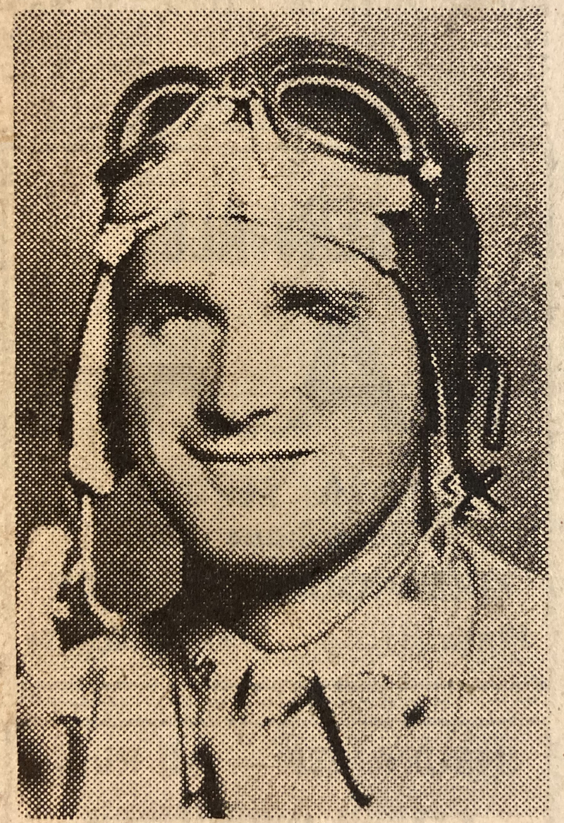 A photo of Lt. Lowell F. Simmons from the Aug. 11, 1949 edition of The Lincoln County News.