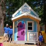 Make-A-Wish Builds Playhouse for Waldoboro 8-Year-Old