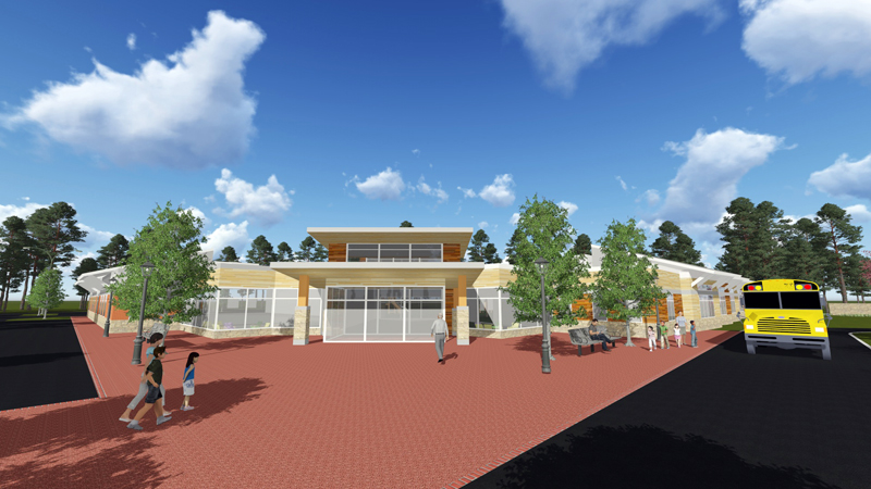 The Center of Excellence in Autism and Developmental Disorders has broken ground and will take $14.7 million to complete.