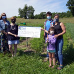 Bank Donates to Foodbank Farm