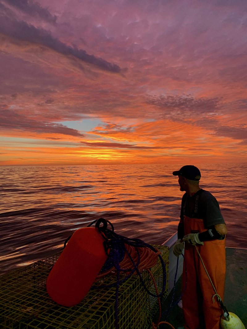 Peter Murphy, of Friendship, won the August #LCNme365 photo contest with a photo taken from his lobster boat at sunrise near Monhegan Island. Murphy will receive two $25 gift certificates, one to each of the joint sponsors of the August contest, Newcastle Publick House and Oysterhead Pizza Co.