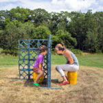 Outdoor Sculpture Exhibit at Watershed Center