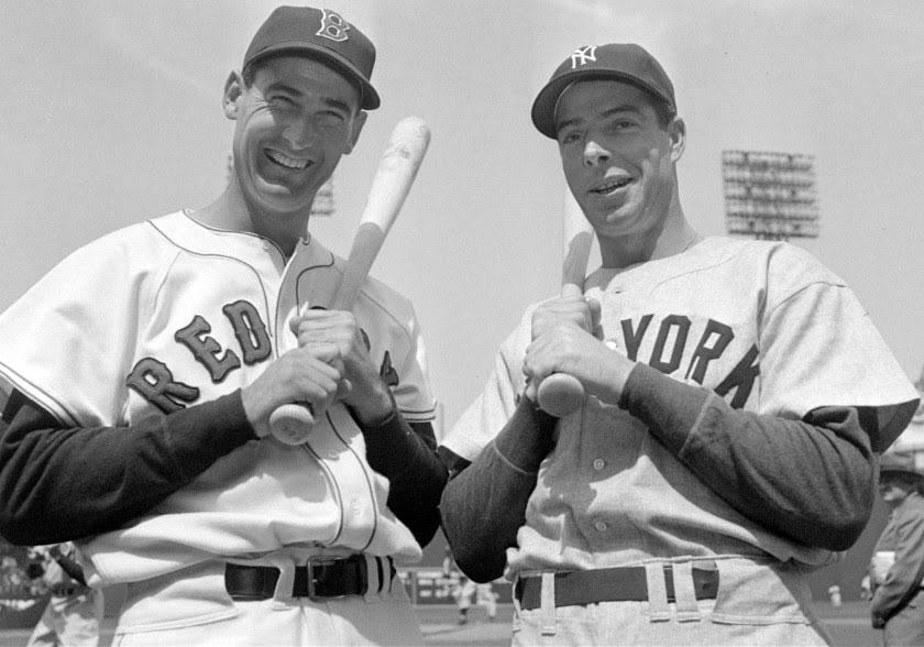 The 1941 season was full of greats like Boston's Ted Williams and New York's Joe DiMaggio.