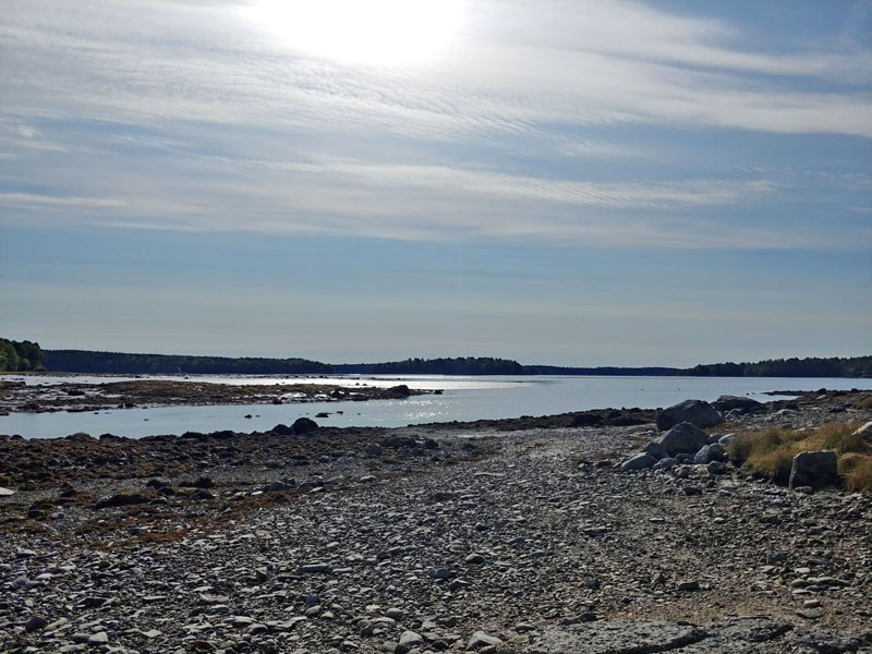 A view of Broad Cove from Storer Landing in Bremen. FB Environmental Associates LLC, of Portland, is working with the town of Bremen to identify sources of pollution in the cove. (Photo courtesy Amanda Gavin)