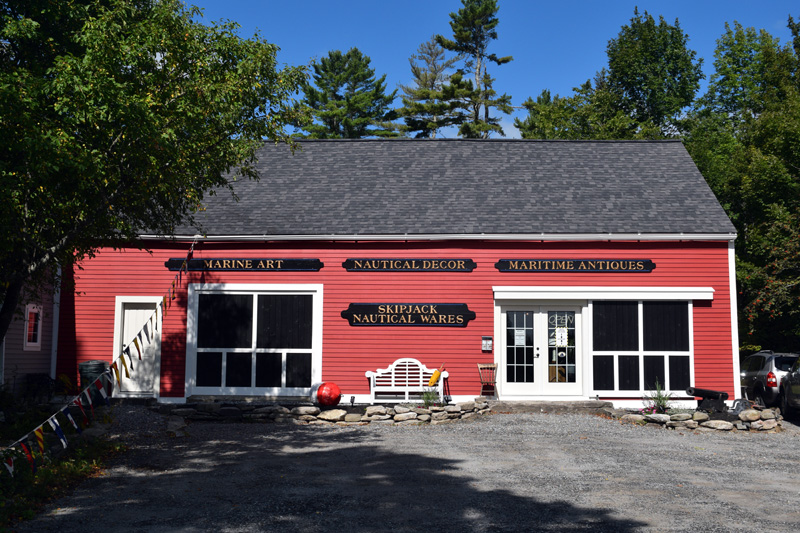 Skipjack Marine Gallery is now open at 1172 State Route 32 in Round Pond. (Hailey Bryant photo)
