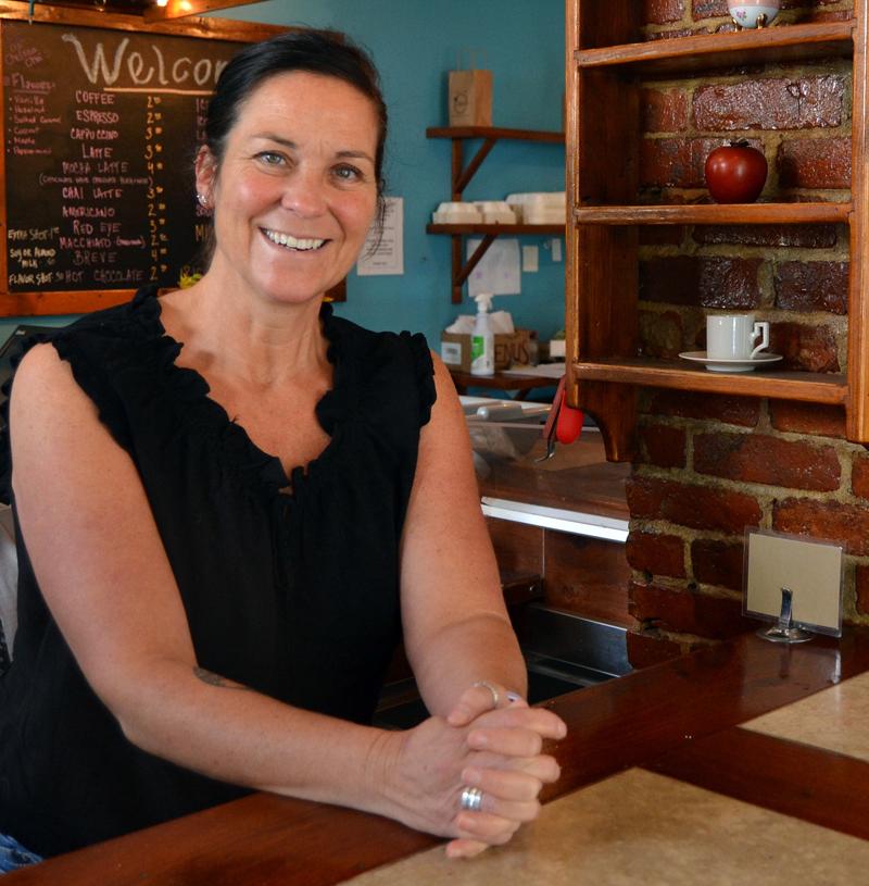 Crissy's Breakfast and Coffee Bar owner Heidi Smith will close the Damariscotta restaurant Sunday, Sept. 6. (Maia Zewert photo)