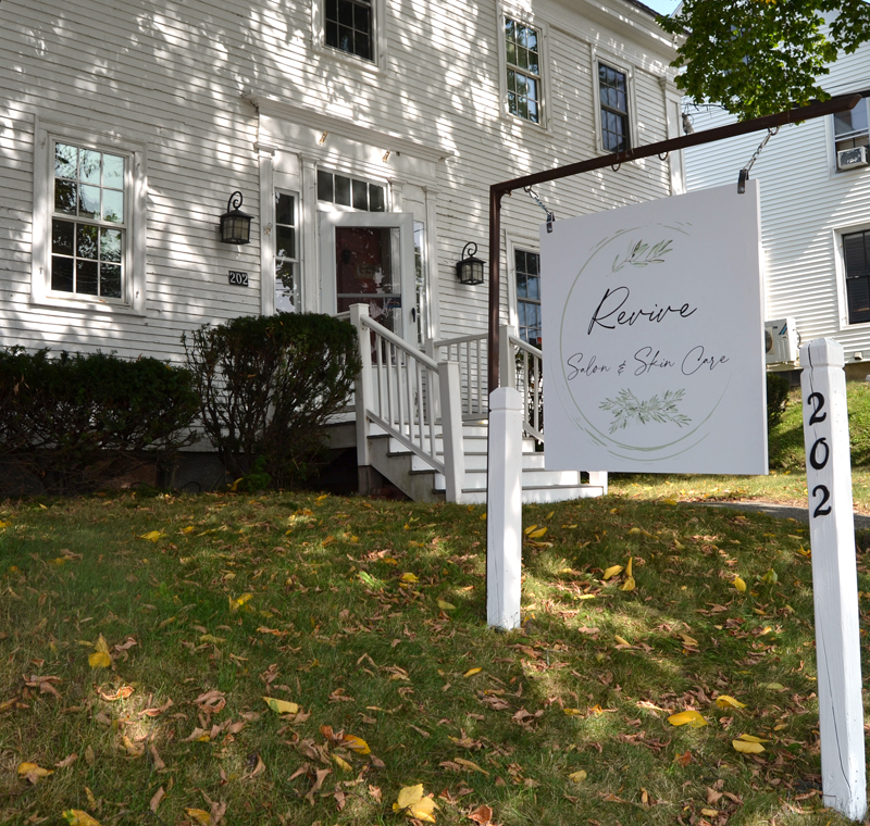 Revive Salon & Skin Care will open at 202 Main St. in Damariscotta on Monday, Sept. 21. (Maia Zewert photo)