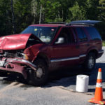Sheriff Rear-Ended on Route 1 in Newcastle