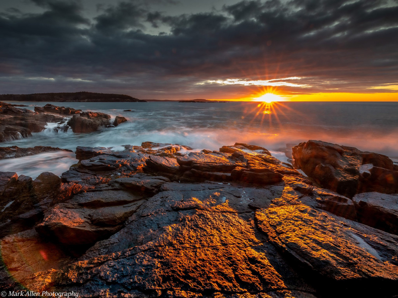 Acadia National Park at sunrise. (Photo courtesy Mark Allen)