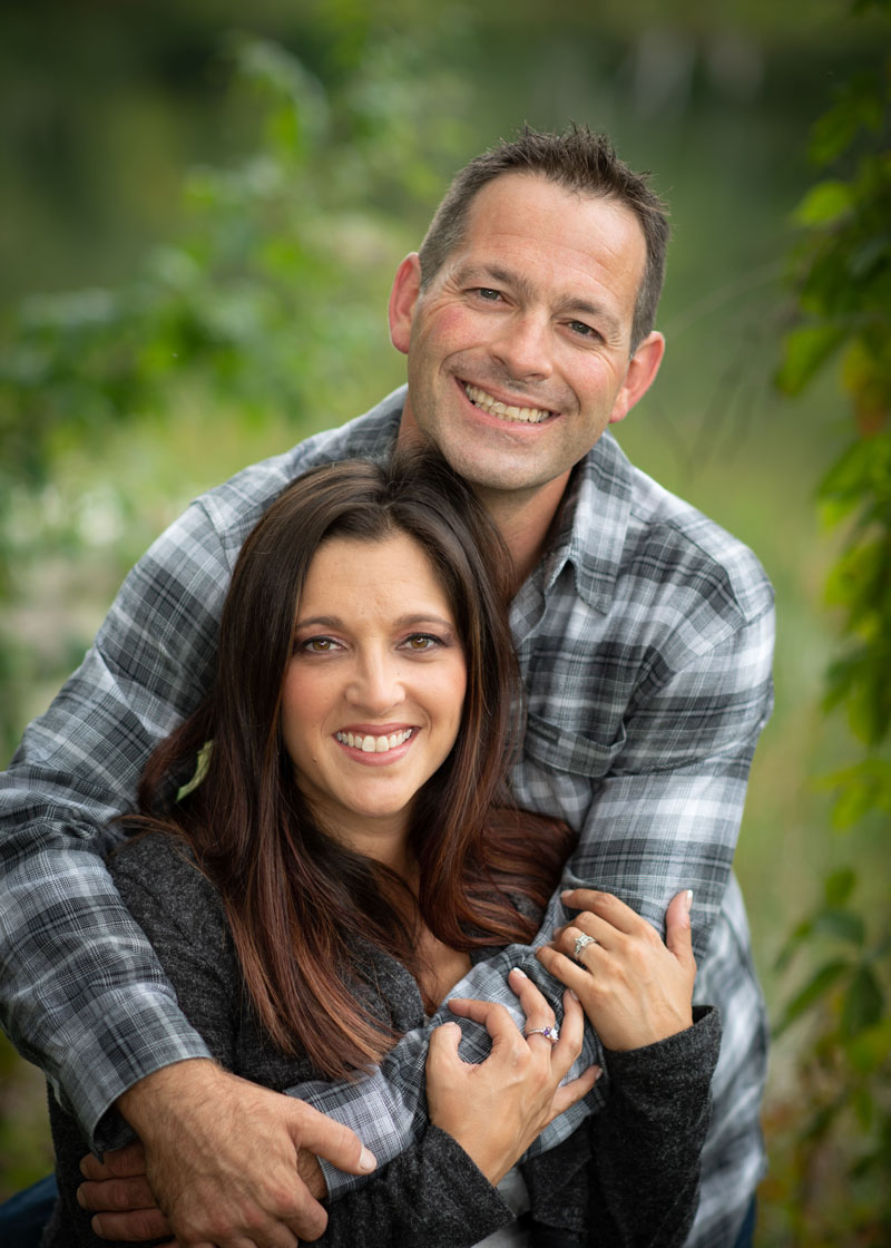 Kelly Ramsey and Shaun Fairfield.