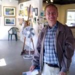 Raffle Winner at Saltwater Gallery
