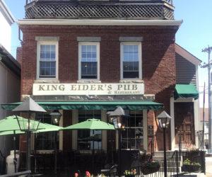King Eider's Pub is located on Main St. in Damariscotta.
