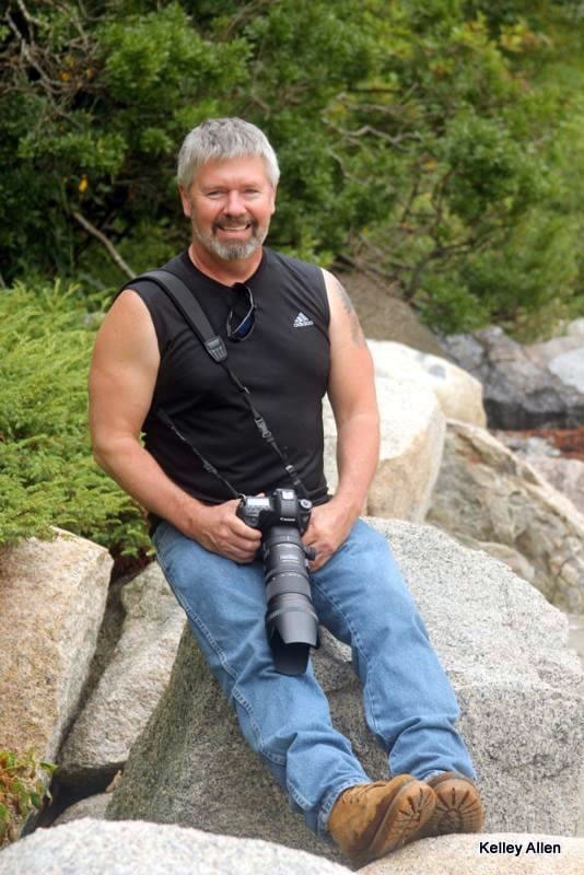 Nature and wildlife photographer Mark Allen. (Photo courtesy Kelley Allen)