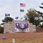 Waldoboro Contractor Builds Monster Trump Sign