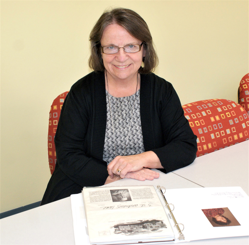 Vicky Bell is a 50-year employee of what is now LincolnHealth.