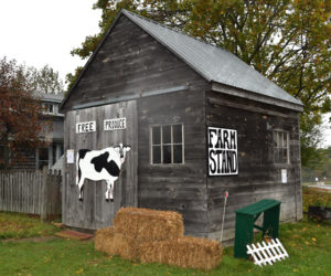 The Take-What-You-Need Farm Stand at The Morris Farm in Wiscasset is open seven days a week. (Hailey Bryant photo)