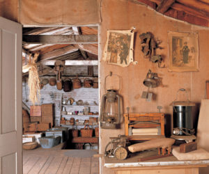 """The upper story toolshed at Castle Tucker is among the rooms visited on the """"Behind Closed Doors"""" tour."""