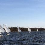 Laser Championship Hits Round Pond