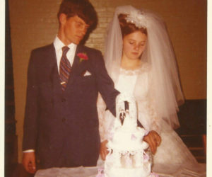Ludger Belanger on his wedding day in 1971. A 1970 graduate of Medomak Valley High School, Belanger disappeared in 1975. (Photo courtesy Justice for Ludger Belanger)