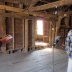 Local News Visits Mill at Pemaquid Falls