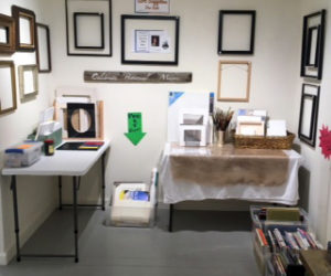 The late artist Caroline Howe's art materials are available for sale at Saltwater Artists Gallery.
