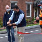 Newcastle Cuts Ribbon to Celebrate Reconstruction of Academy Hill Road