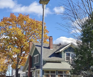 The Damariscotta Historical Society asks readers to identify this location in town.