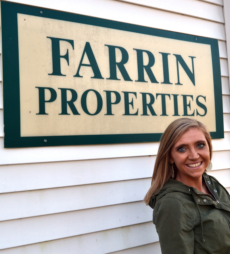 CeCe Verrier, of Jefferson, joins the team at Farrin Properties.