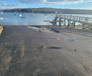 Repairs are complete at the town landing.